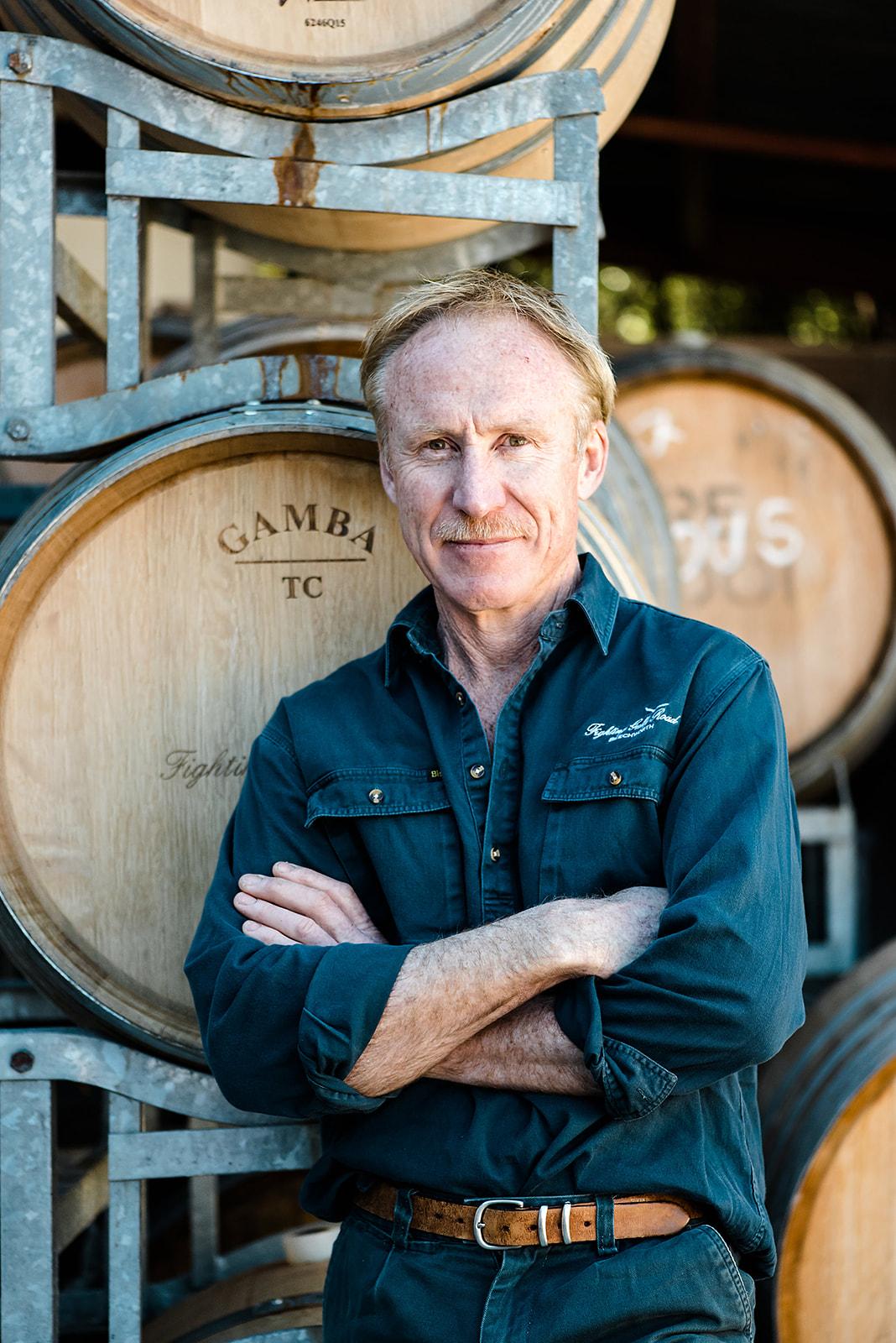 Fighting Gully Road vigneron winemaker Mark Walpole